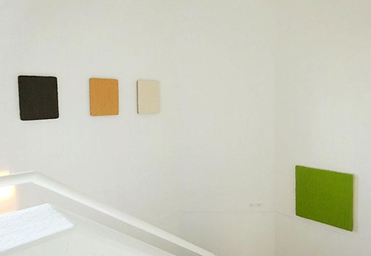 """""""Nur die Farbe zählt"""", 2017, Galerie Klaus Braun, Stuttgart"""
