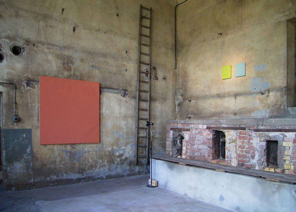"""""""kunstlicht"""" 2015, Heizhalle, Gärtnerhof Velten bei Berlin"""