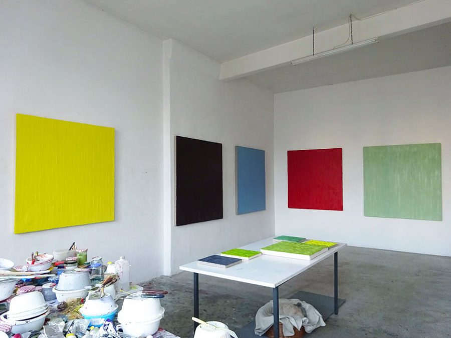 Atelier, Christiane Conrad 2016
