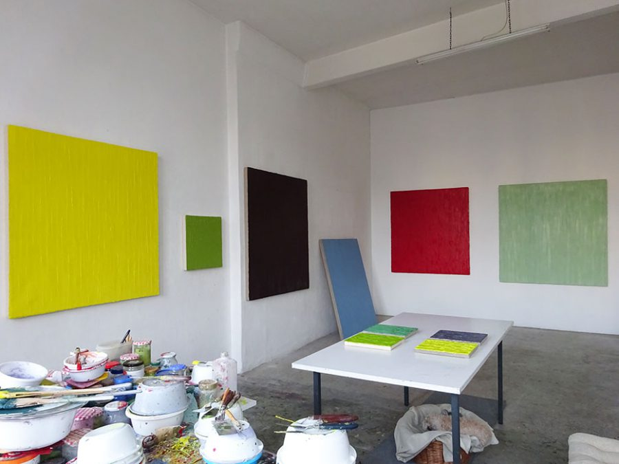 Ateliersituation 2016 Chrstiane Conrad