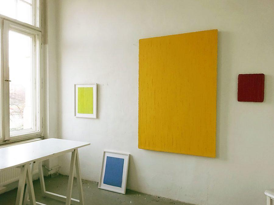 Auschnitt: Kleines Atelier, Christiane Conrad, 2016