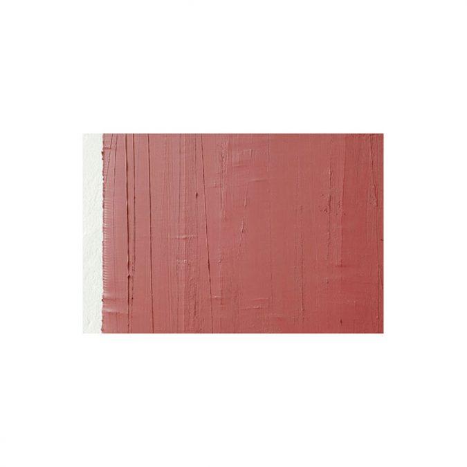 """Ausschnitt: """"Stumpfes Rot"""" 2003, Öl auf Leinwand, 148 x 139 cm"""