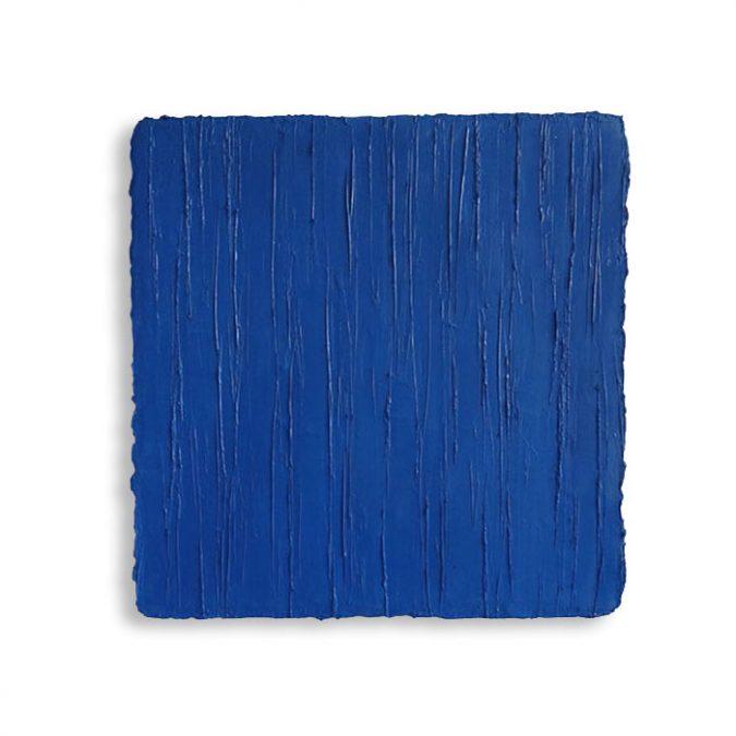 """Brilliantblau"" 2015, Öl auf Leinwand, 40 x 40 cm, Privatsammlung"