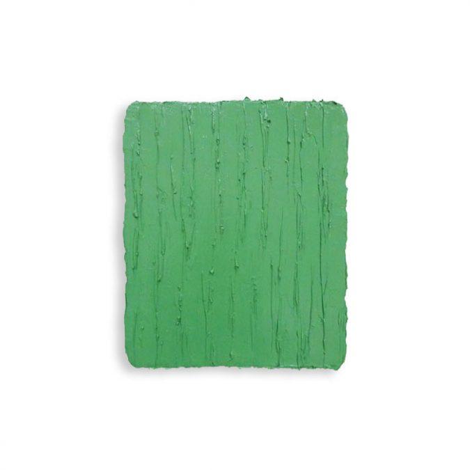 """Chromoxydgrün"" 2016, Öl auf Leinwand, 31 x 26 cm"