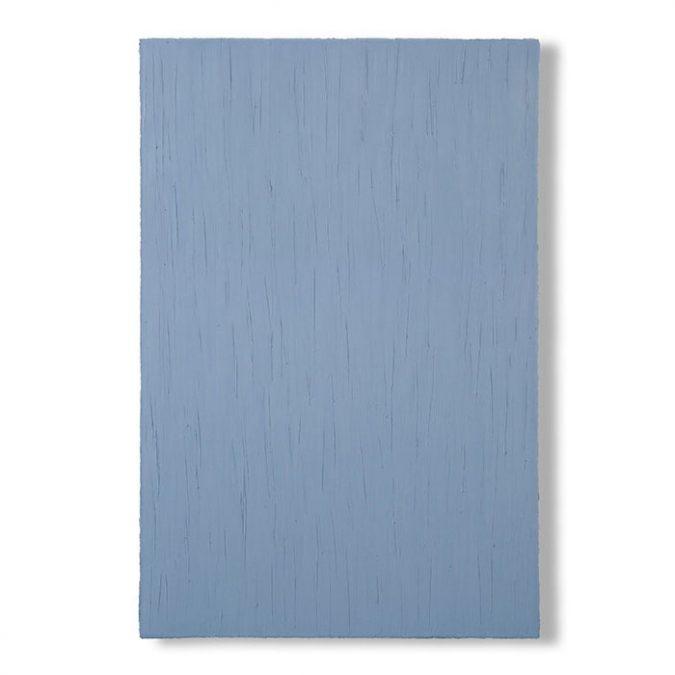 """""""Hellblau"""" 2008, Öl auf Leinwand, 150 x 100 cm"""