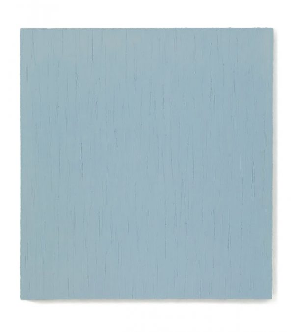 """Hellblaugrau"" 2010, Öl auf Leinwand, 150 x 140 cm"