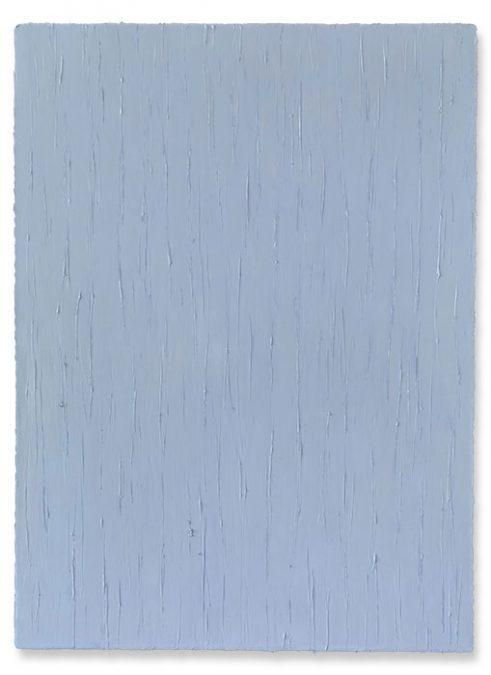 """Helles Ultramarinviolett"" 2013, Öl auf Leinwand, 150 x 110 cm"