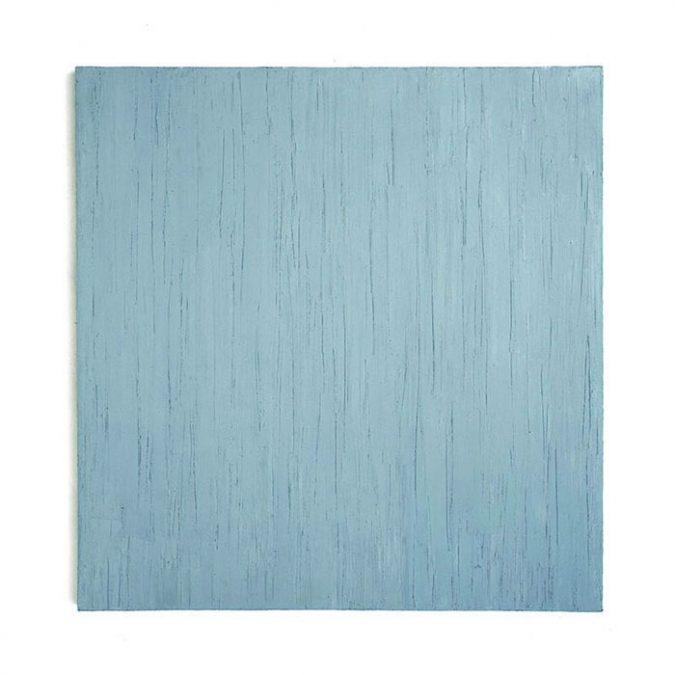 """Januarblau"" 2011, Öl auf Leinwand, 140 x 130 cm"