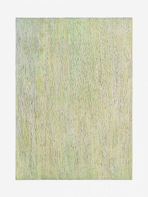 """""""Juli"""" 2014, Ölpastell auf Papier, 42 x 29,7 cm, Havelland"""