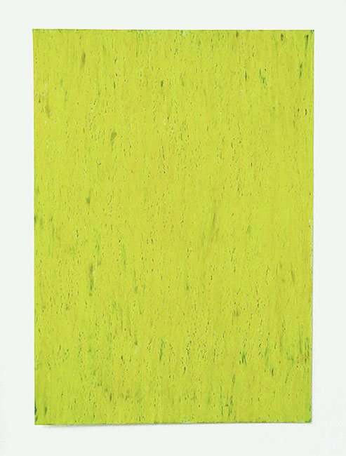 """""""Juni"""" 2016, Ölpastelle auf Papier, 42 x 29,7 cm, Havelland"""