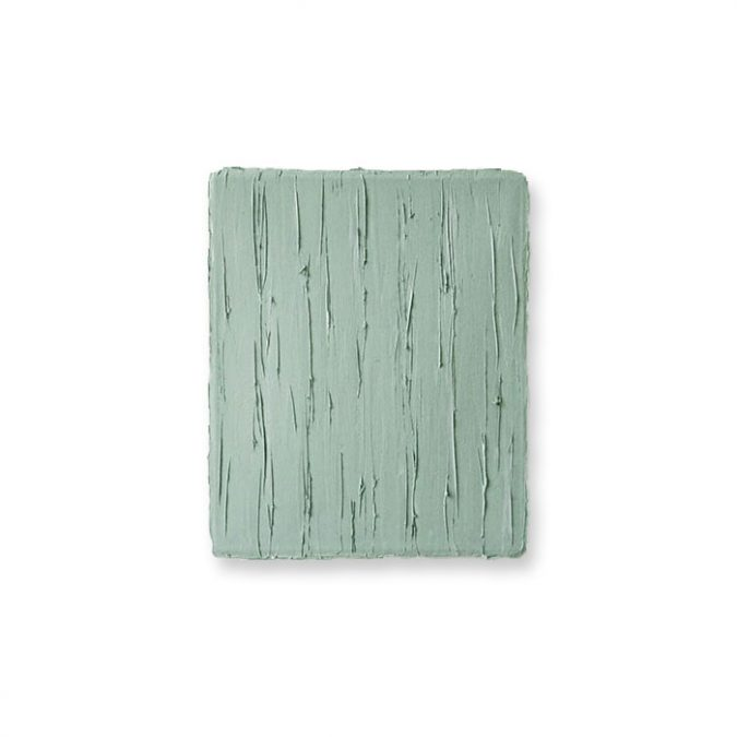 """Kleines Graugrün"" 2016, Öl auf Leinwand, 31 x 26 cm"