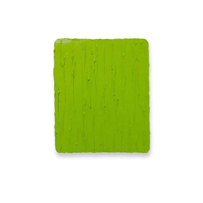 """Leuchtendes Grün"" 2016, Öl auf Leinwand, 31 x 26 cm"
