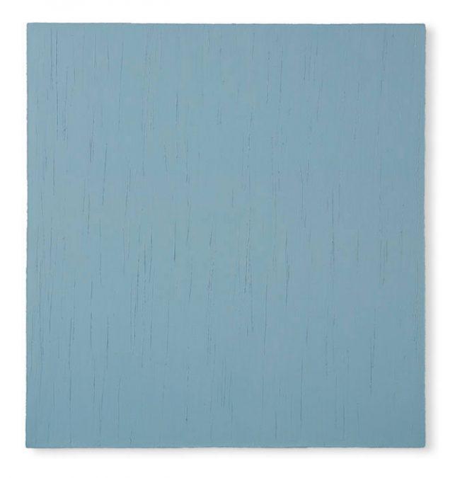 """Novemberhimmel"" 2004, Öl auf Leinwand, 146 x 137 cm"