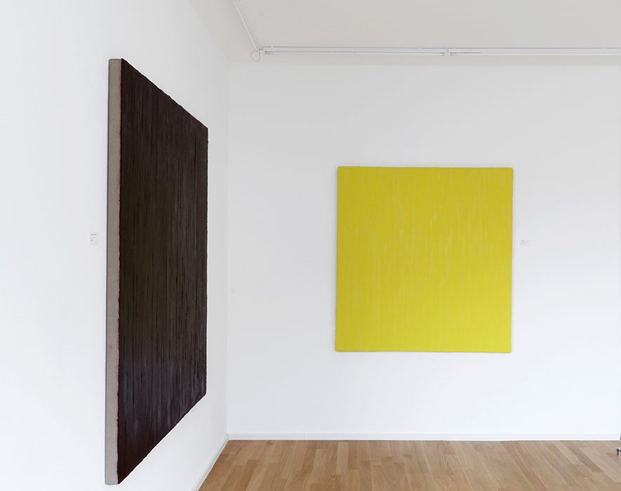 """""""Nur die Farbe zählt"""" 2017, Galerie Klaus Braun, Stuttgart"""