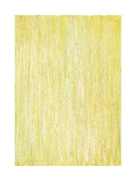 """""""Stroh"""" 2004, Ölpastell auf Papier, 29,4 x 20,7 cm, Privatsammlung"""