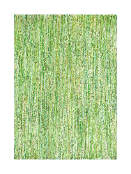 """""""Wiese"""" 2004, Ölpastell auf Papier, 29,4 x 20,7 cm, Privatsammlung"""