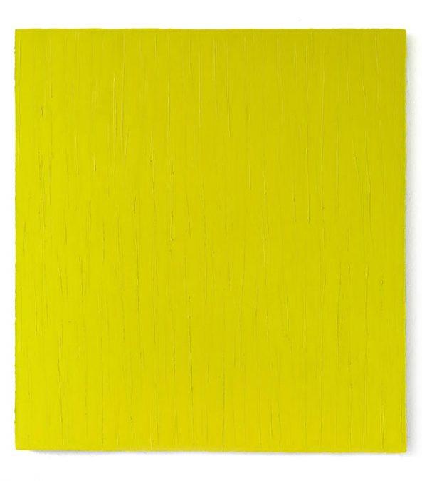 """Raps"" 2009, Öl auf Leinwand, 140 x 130 cm"