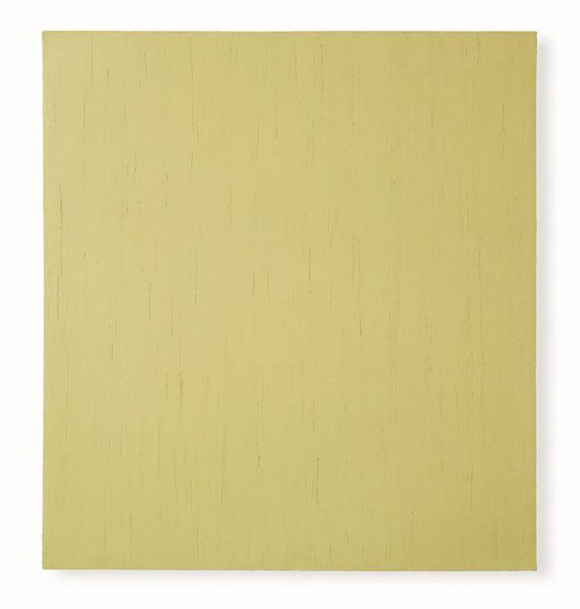 """""""Sand"""", 2002, Öl auf Leinwand, 148 x138 cm"""