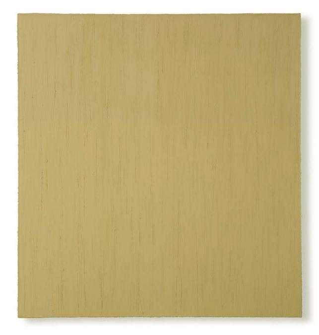 """""""Schilf I"""" 2004, Öl auf Leinwand, 150 x 140 cm"""