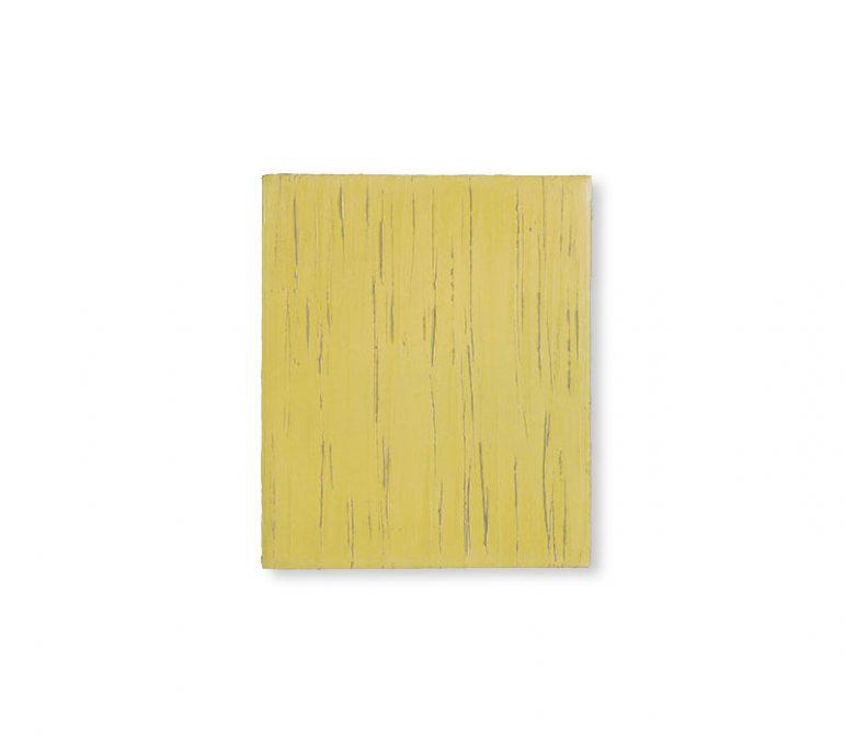 """Sienagelb"" 2003, Öl auf Leinwand, 30 x 25 cm"