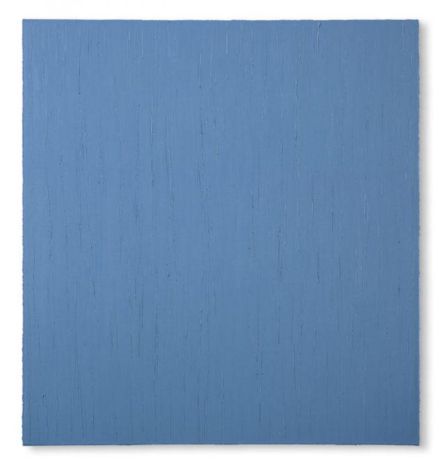 """Tagblau"" 2007, Öl auf Leinwand, 150 x 140 cm, Privatsammlung"