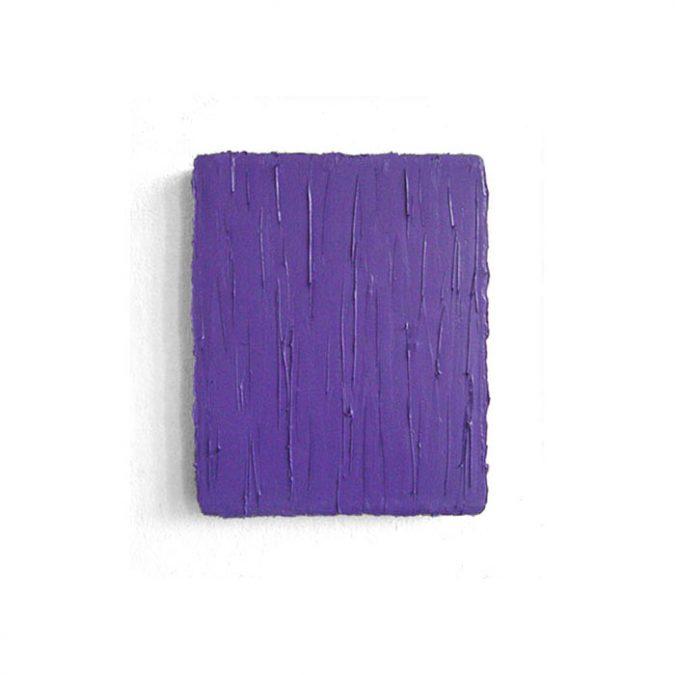 """Ultramarinviolett"" 2015, Öl auf Leinwand, 31 x 26 cm, Privatsammlung"