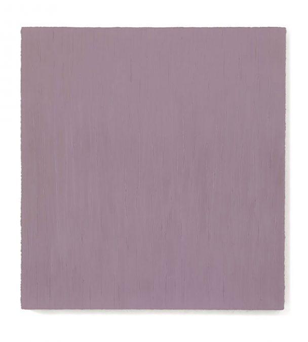 """Violettrosa Feld"" 2010, Öl auf Leinwand, 150 x 140 cm"