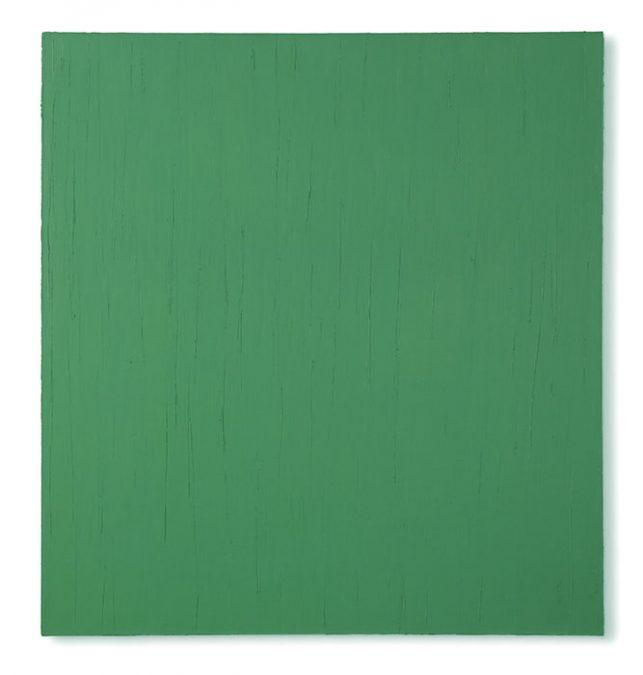 """Viridian"" 2004, Öl auf Leinwand, 147 x 137 cm"