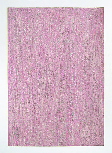 """""""Wildnelken"""" 2011, Ölpastell auf Papier, 42 x 29,7 cm, Havelland"""