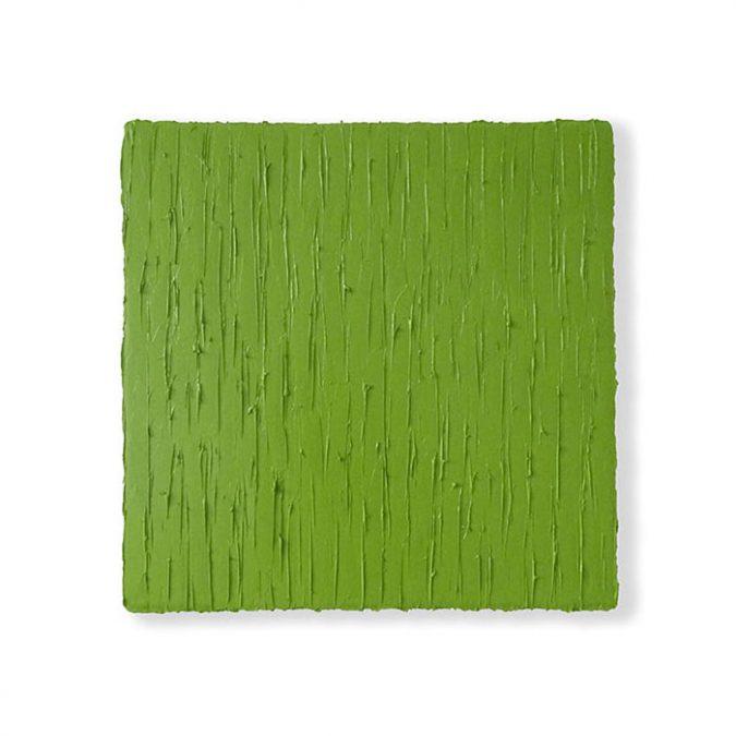 """Wintergrün"" 2016, Öl auf Leinwand, 50 x 50 cm"