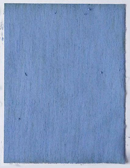 """""""Blaue Wiese"""" 2016, Ölpastell auf Bütten, 42 x 29,7 cm (Fahrland)"""