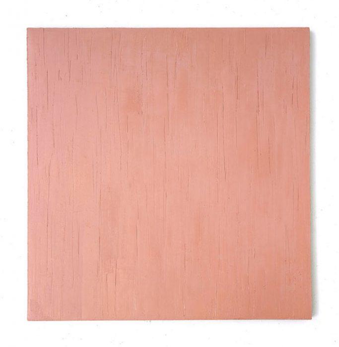 """Sienarosa"" 1999, Öl auf Leinwand, 148 x 138 cm"