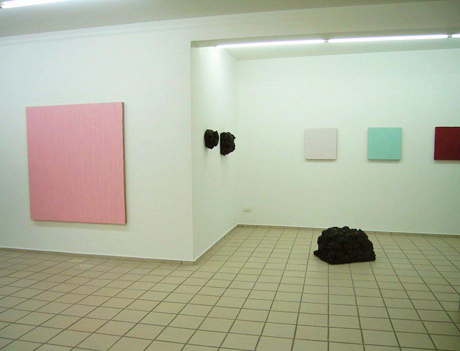 """""""dick aufgetragen"""" 2015, Galerie Kautsch, Michelstadt (m. Matthias Lutzeyer)"""