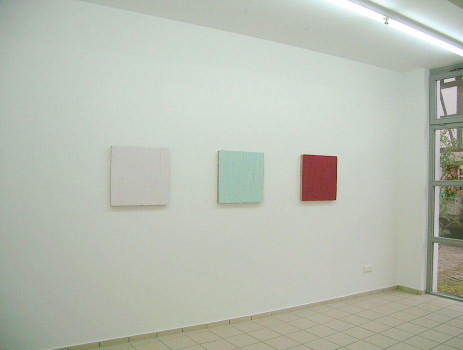 """""""dick aufgetragen"""", 2015, Galerie Kautsch, Michelstadt (m. Matthias Lutzeyer)"""