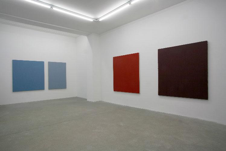 Christiane Conrad in der Galerie nihi nisi, Berlin, 2009© Marc Volk, Berlin