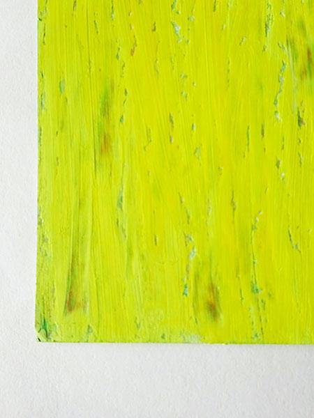 "Ausschnitt: ""Juni"" 2016, Ölpastell auf Papier, 42 x 29,7 cm"