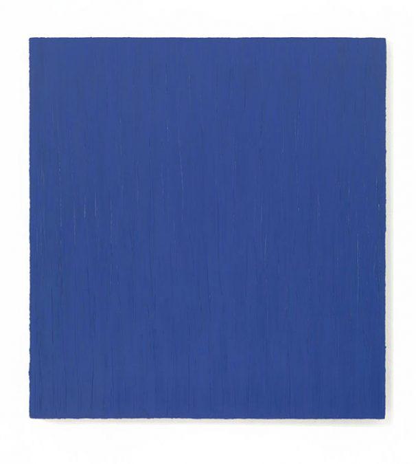 """""""Das Blaue"""" 2010, Öl auf Leinwand, 150 x 140 cm"""