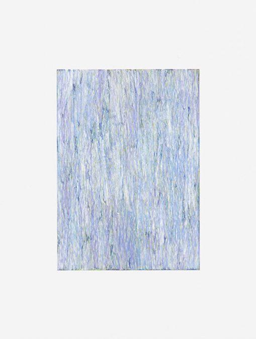 """Mittags I"" 2014, Ölpastell auf Papier, 29,7 x 21,5 cm, Fahrland"